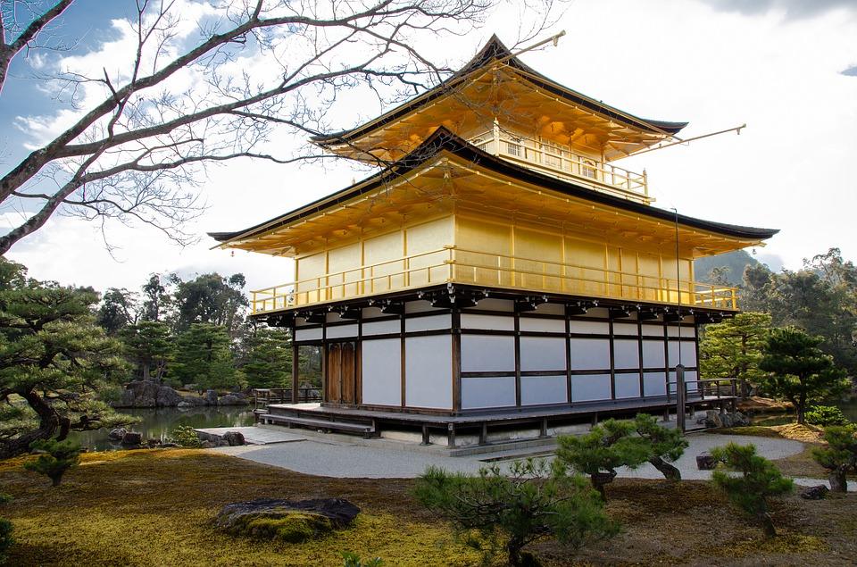 Padiglione d'Oro a Kyoto.