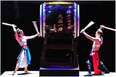Wadaiko Zinka, la musica giapponese fatta di ritmo ed energia