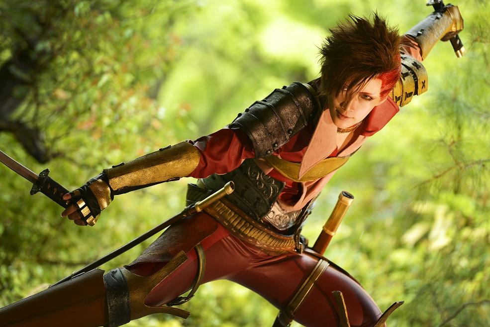 Un cosplay di Reika da un personaggio giapponese
