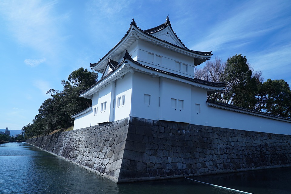 Castello antico giapponese