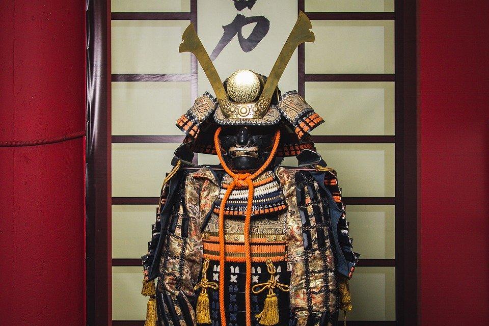 armatura del samurai giapponese