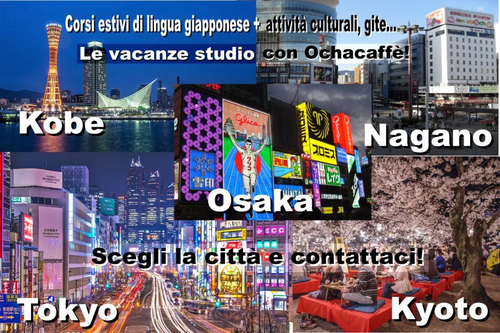 Corsi di lingua giapponese in Giappone, vacanze studio
