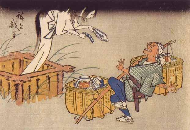 Nel folklore giapponese le storie di fantasmi (yurei) sono numerose.