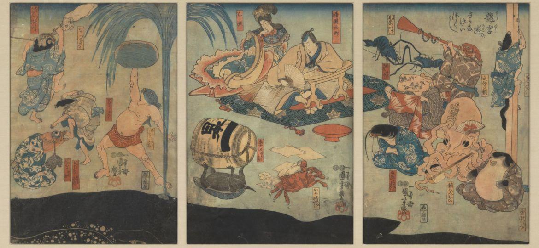 La leggenda giapponesi di Urashima Taro