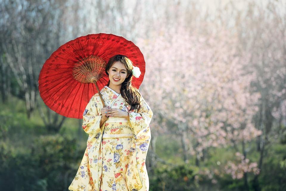 Kimono, affascinante abito femminile