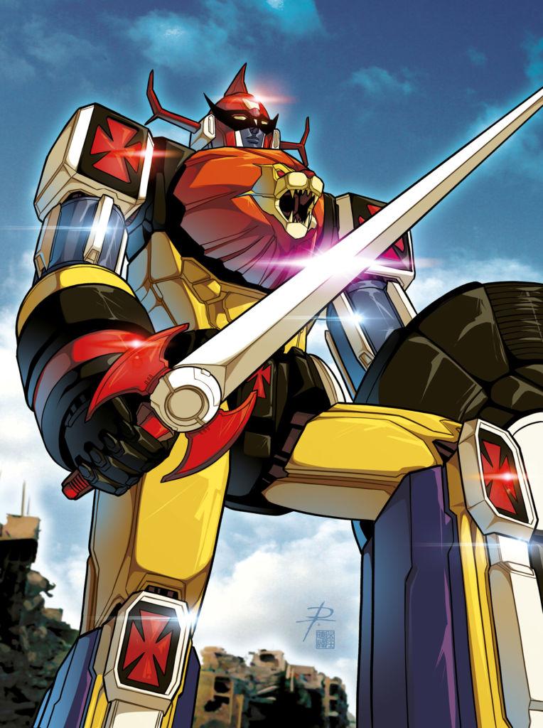 Il robot Daltanious / Il Medioevo dei mecha giapponesi
