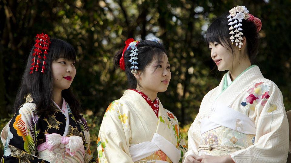 affascinante kimono giapponese