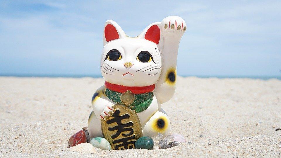 gatto giapponese maneki neko