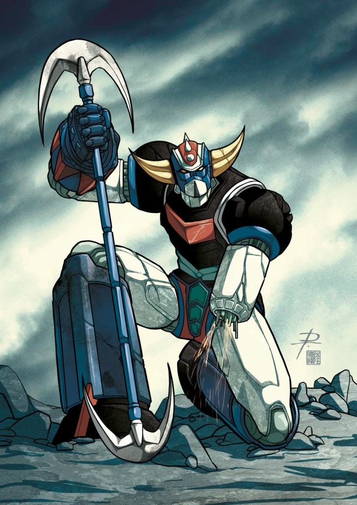 Il re dei robottoni Go Nagai: Goldrake
