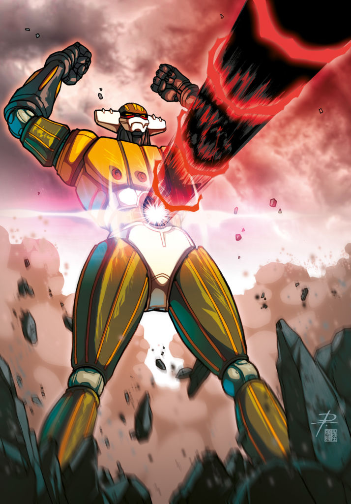 Il re dei robottoni Go Nagai, Jegg Robot