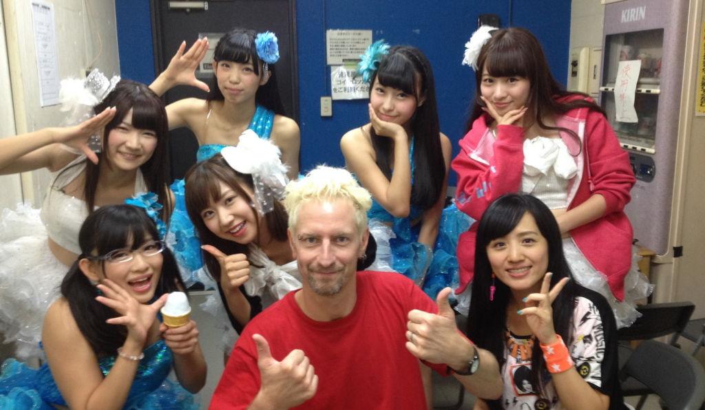 K-ble Jungle, DJ Shiru con idol giapponesi
