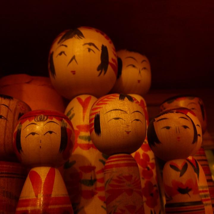 Kokeshi, bambole dal Giappone