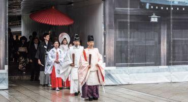 Matrimonio tradizionale in Giappone