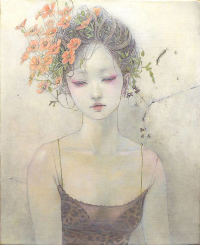 Miho Hirano la bellezza dell'effimero