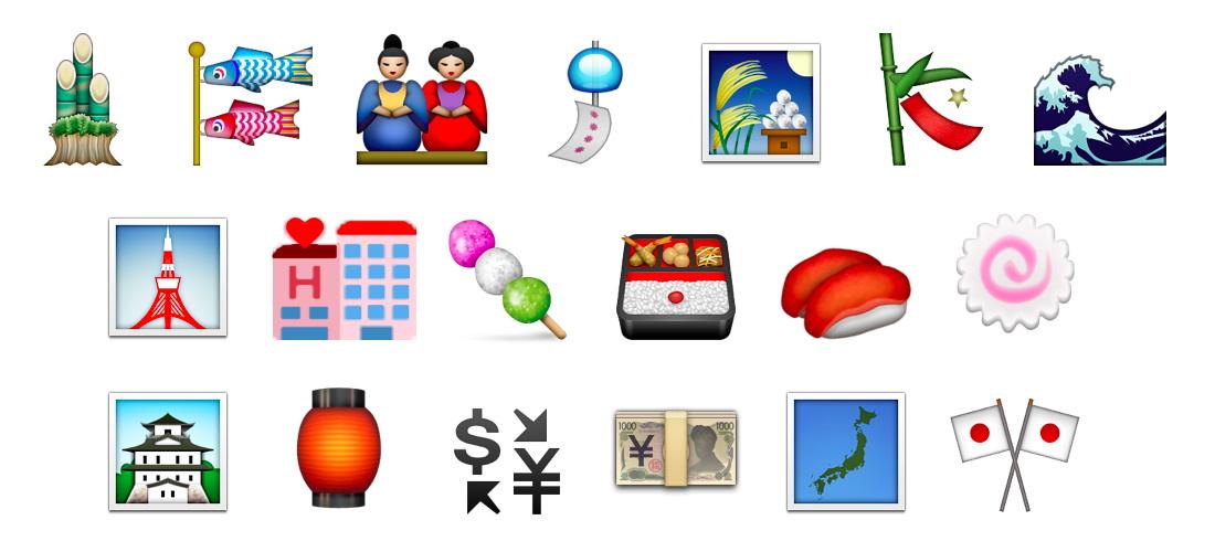 Emoji giapponesi