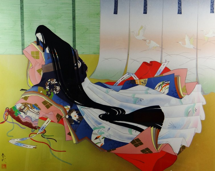 kimono a dodici strati, Haruyo Morita