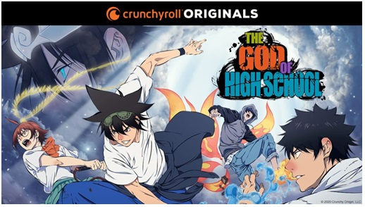 Crunchyroll the God of High School anime coreano