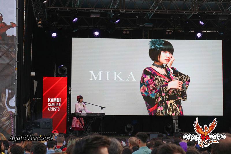 Mika Kobayashi, concerto a Etna Comics