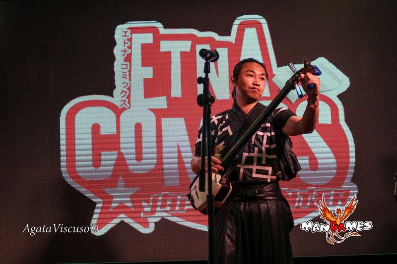 Keisho Ohno, musicista giapponese a Etna Comics