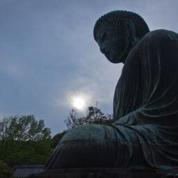 Statua di Buddha in Giappone