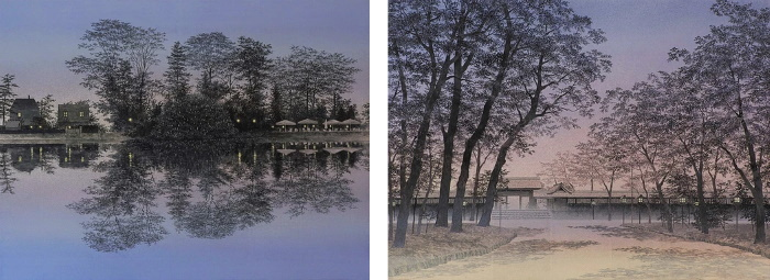 Pittura giapponese: due opere di Shoko Okumura