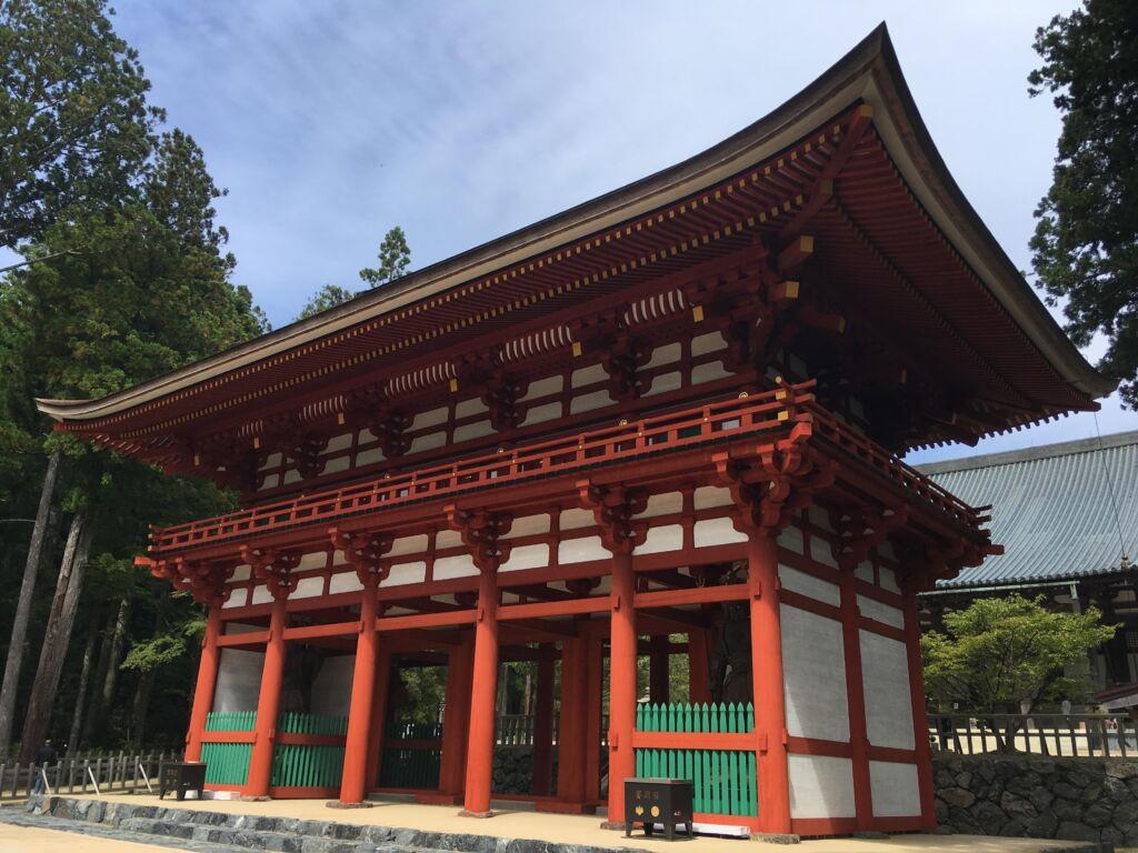 Tipico esempio di architettura buddhista