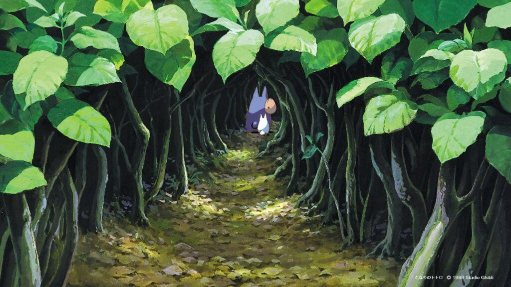 spiritualità nei film Ghibli: Totoro