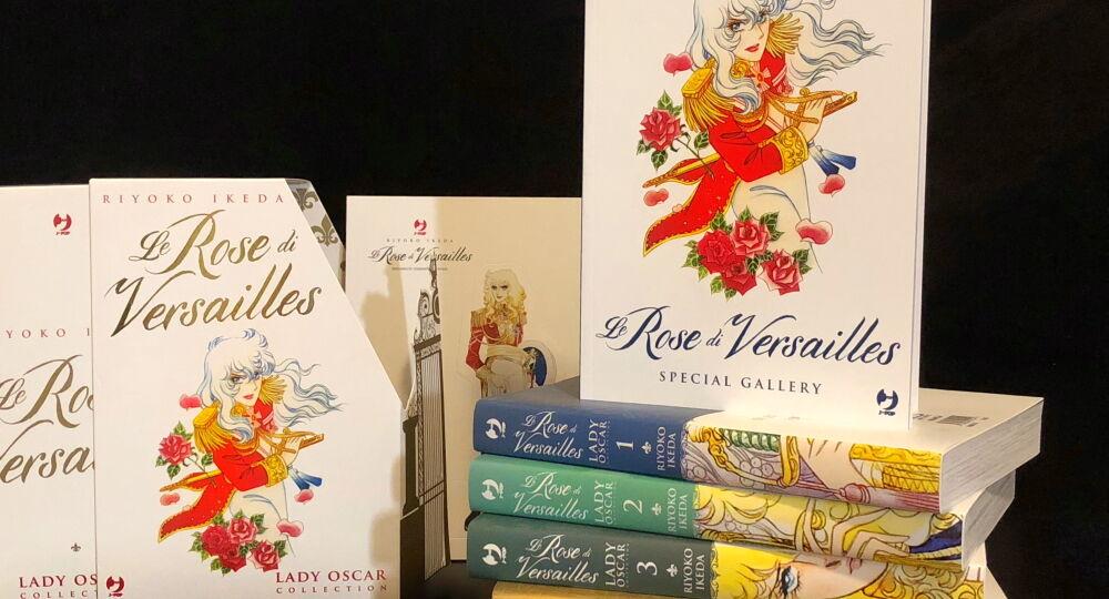 Edizione italiana del manga Lady Oscar