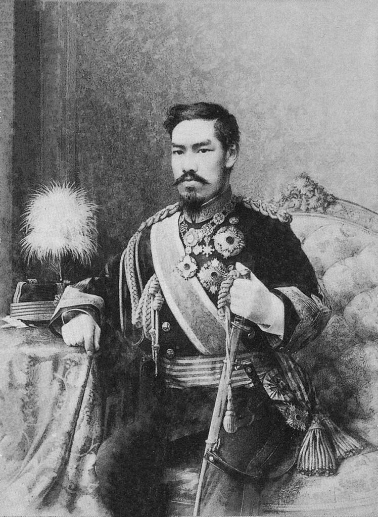 L'imperatore Meiji e la La Costituzione