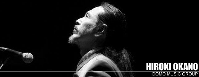 Hiroki Okano, musicista molto attivo per promuovere la pace nel mondo