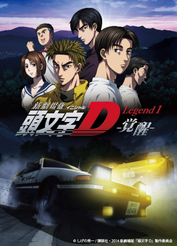L'anime giapponese Initial D