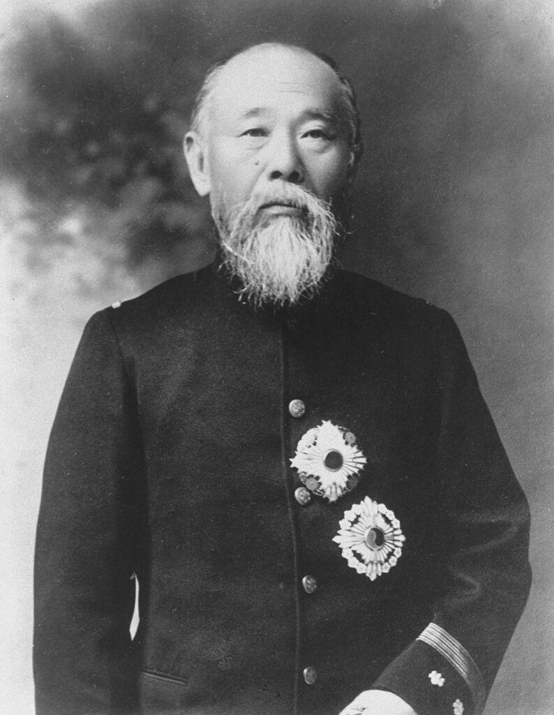Il primo ministro giapponese Ito Hiborumi