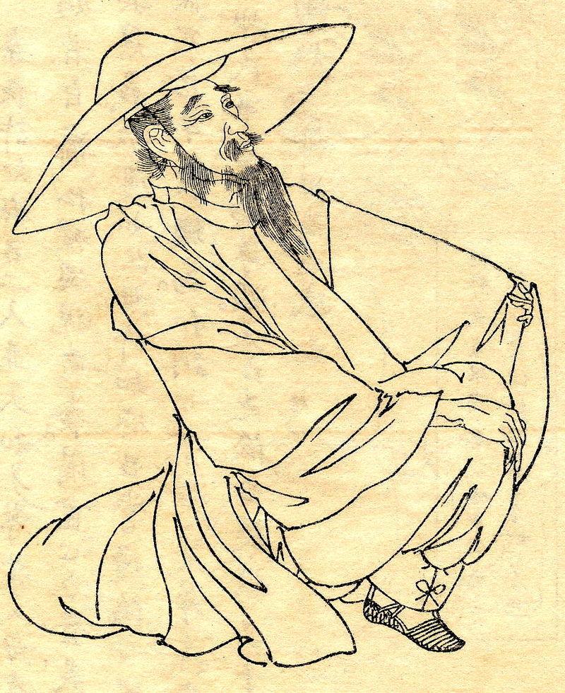 Il poeta Kakinomoto Hitomaro