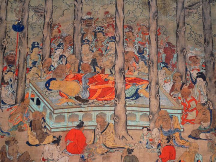 Morte del Buddha nella pittura zen