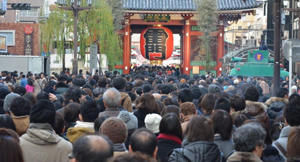 Capodanno a Tokyo al tempio