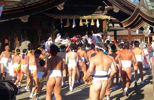 Hadaka matsuri: festival dell'uomo nudo