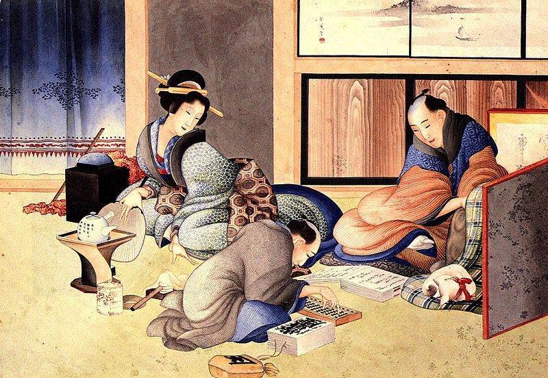 Mercanti giapponesi