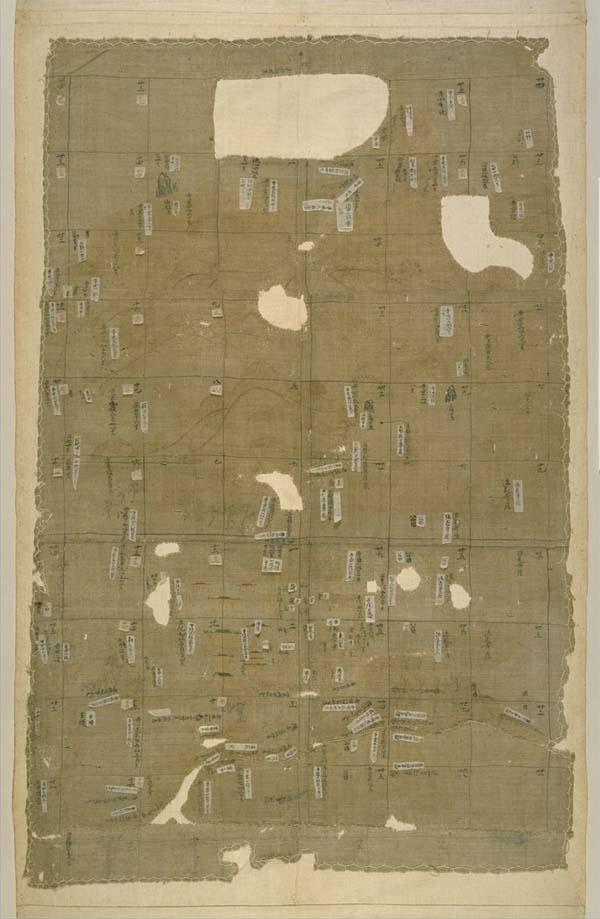 Mappa del sistema shogunale in Giappone