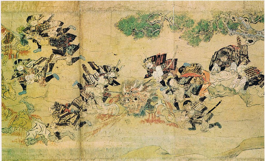 Mostro e guerrieri giapponesi