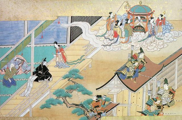 Scena dal Giappone classico