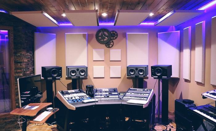 Studio di registrazione per musica da videogiochi