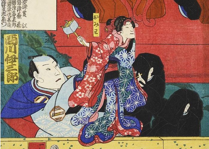 Teatro dei burattini in epoca Edo