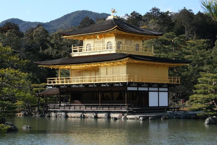 Tempio d'oro Kyoto Giappone