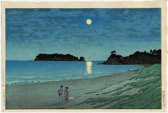 Hasui Kawase, 1930 - shichirigahama soshu