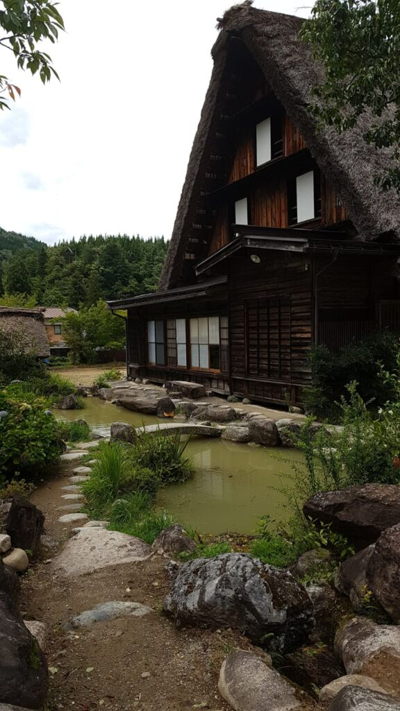 Ogimachi Vilaggio di Shirakawa-Go Casa in Stile gassho Giappone Minka Casa Rurale