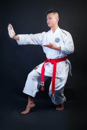 Divisa di un karateka