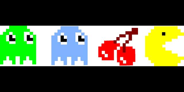 Personaggi videogioco Pac-man