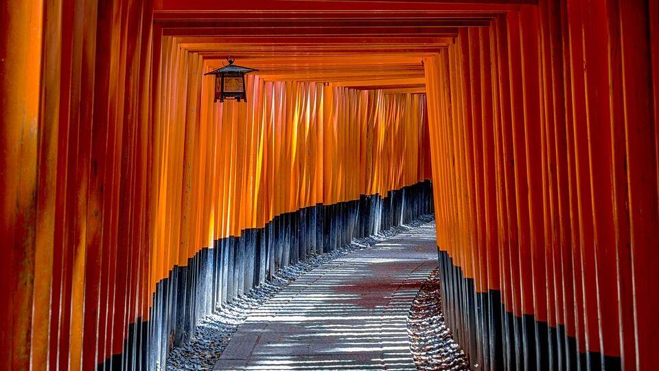 Tempio giapponese Fushimi Inari