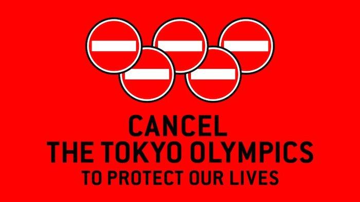 Manifesto campagna contro Olimpiadi