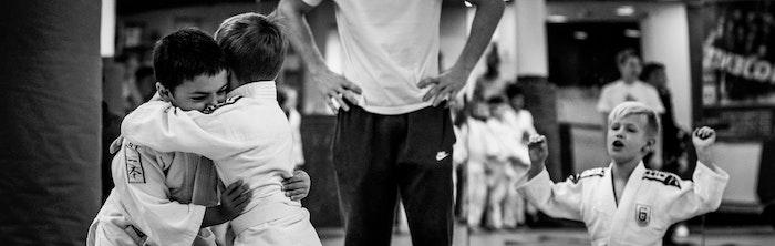 Giovani praticanti di judo